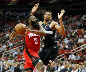 Harden vs. Giannis trash talk won't impact NBA MVP betting odds | News Article by Inspin.com